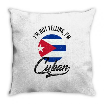 Cuban Throw Pillow Designed By Ale Ceconello