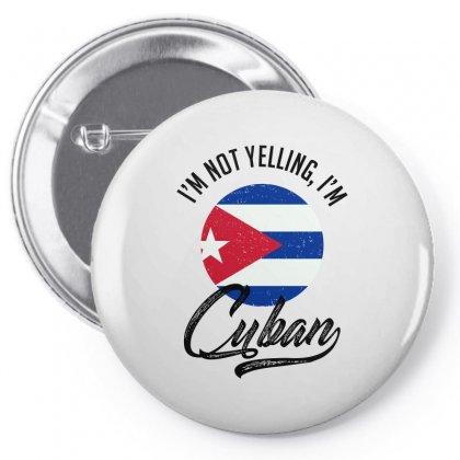 Cuban Pin-back Button Designed By Ale Ceconello