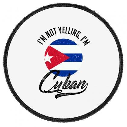 Cuban Round Patch Designed By Ale Ceconello