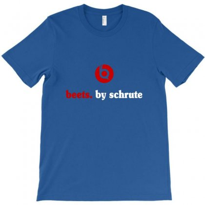 Beets By Schrute T-shirt Designed By Mdk Art