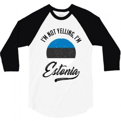 Estonia 3/4 Sleeve Shirt Designed By Ale Ceconello