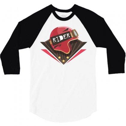 Rider 3/4 Sleeve Shirt Designed By Estore