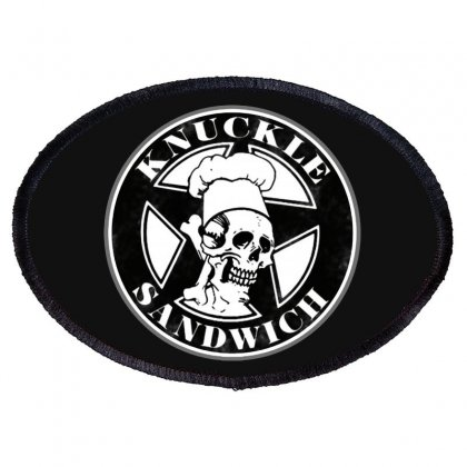 Guy Fieri Knuckle Sandwich Oval Patch Designed By Hot Pictures