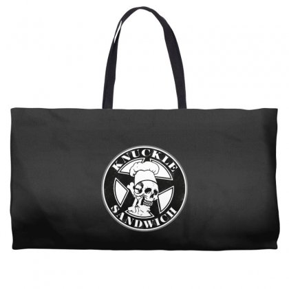 Guy Fieri Knuckle Sandwich Weekender Totes Designed By Hot Pictures