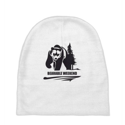 Bearable Weekend Baby Beanies Designed By Estore