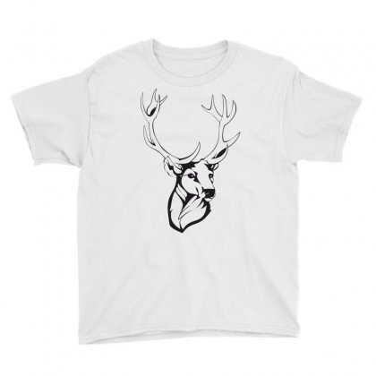 Deer Youth Tee Designed By Estore