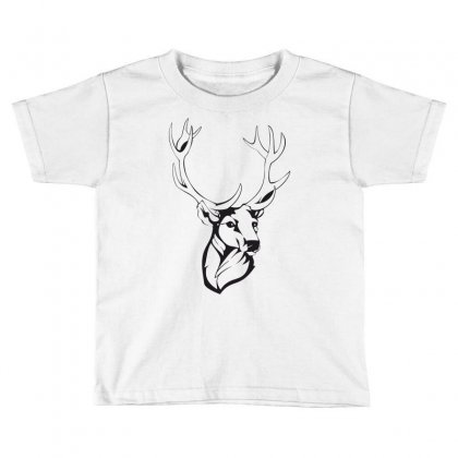 Deer Toddler T-shirt Designed By Estore