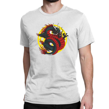 Dragon Classic T-shirt Designed By Estore
