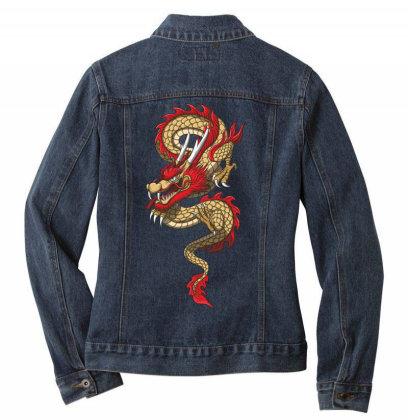 Dragon Ladies Denim Jacket Designed By Estore