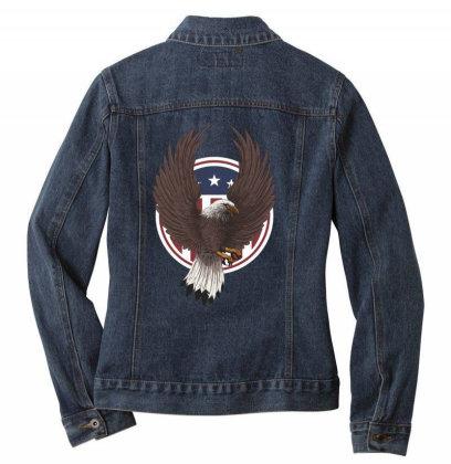 Eagle Ladies Denim Jacket Designed By Estore