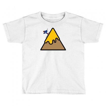 Mountain Ski Toddler T-shirt Designed By Warief77