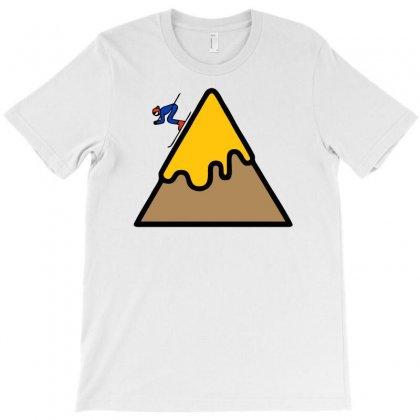 Mountain Ski T-shirt Designed By Warief77