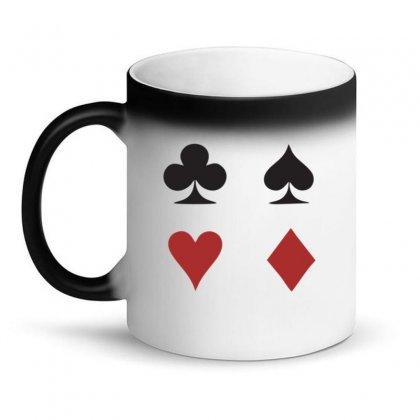Cards Logo Magic Mug Designed By Kingslayer