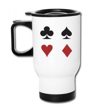 Cards Logo Travel Mug Designed By Kingslayer