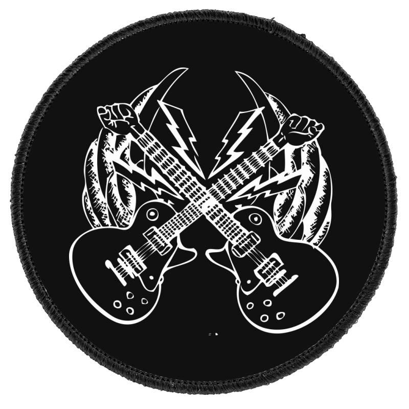 Guitar Round Patch | Artistshot