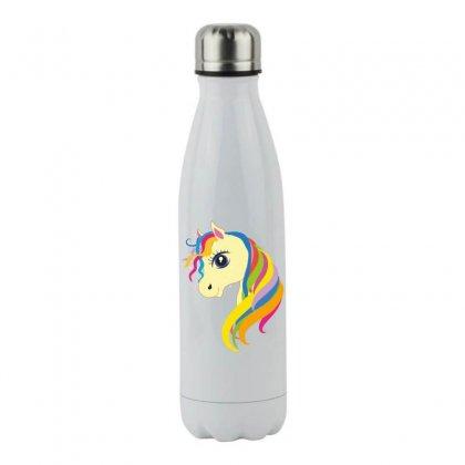 Horse Unicorn Stainless Steel Water Bottle Designed By Estore