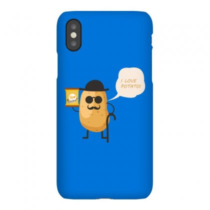 I Love Potato Iphonex Case Designed By Estore