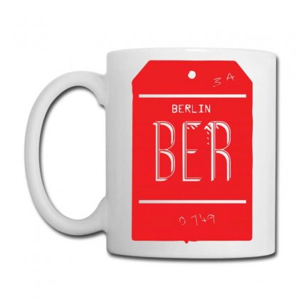 Berlin Luggage Tag Coffee Mug Designed By Yusup