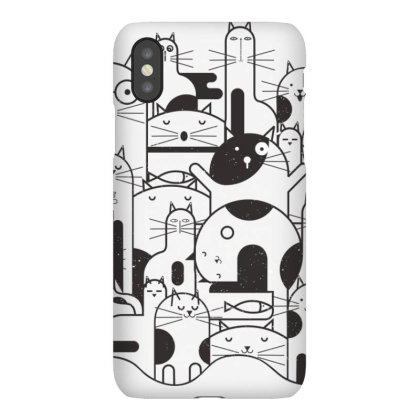 Cats Iphonex Case Designed By Estore