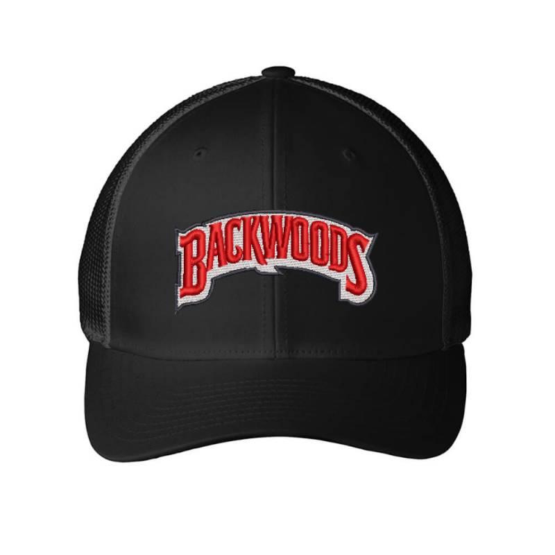 Backwoods Embroidered Hat Embroidered Mesh Cap | Artistshot