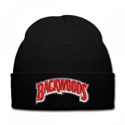 Backwoods embroidered hat Knit Cap | Artistshot
