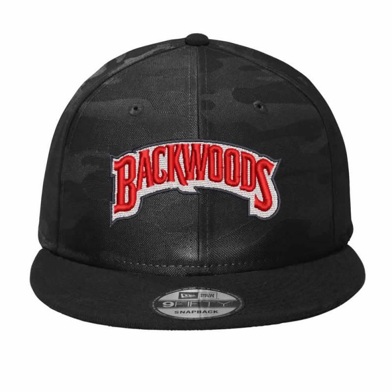 Backwoods Embroidered Hat Camo Snapback | Artistshot