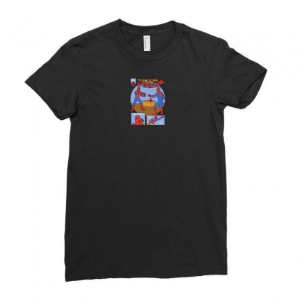 The Amusing Spidermeme Ladies Fitted T-shirt Designed By Yusup