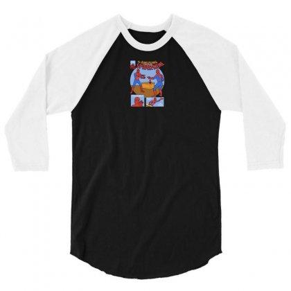 The Amusing Spidermeme 3/4 Sleeve Shirt Designed By Yusup