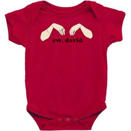 Ew David   Schitt's Creek Baby Bodysuit Designed By Animestars