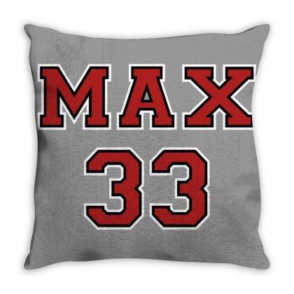 Verstappen Throw Pillow Designed By Adore