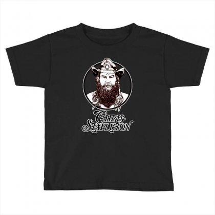 Chris Stapleton Toddler T-shirt Designed By William Art