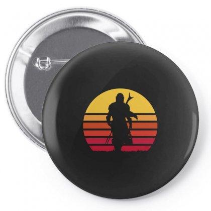 Mando Retro Pin-back Button Designed By Waroenk Design