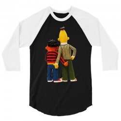 real love bert and ernie 3/4 Sleeve Shirt | Artistshot