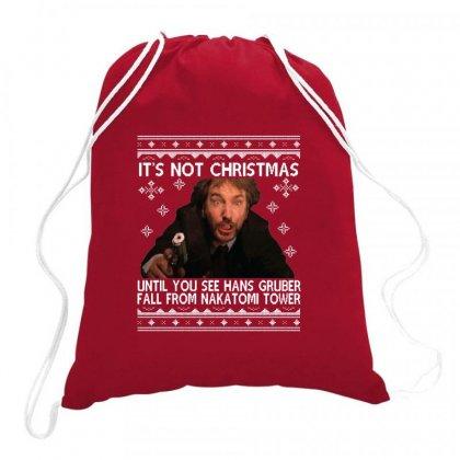Die Hard Its Not Christmas Drawstring Bags Designed By Robertosupeno