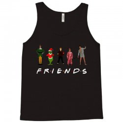 christmas grinch kevin friends characters for dark Tank Top | Artistshot