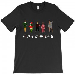 christmas grinch kevin friends characters for dark T-Shirt | Artistshot