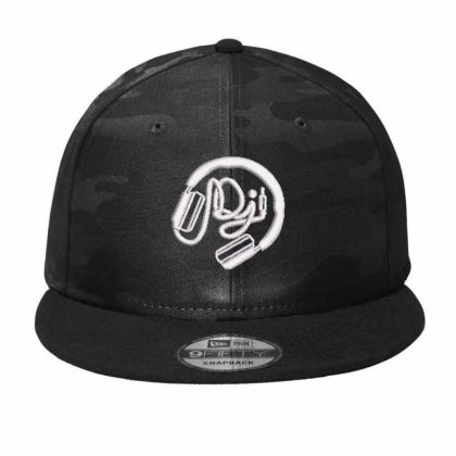 Dj Embroidered Hat Camo Snapback Designed By Madhatter