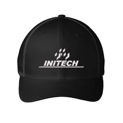 Initech Embroidered Mesh Cap Designed By Madhatter