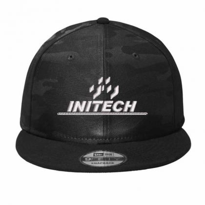 Initech Camo Snapback Designed By Madhatter