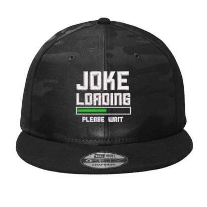 Joke Loading Embroidered Hat Camo Snapback Designed By Madhatter