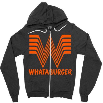 Whataburger Zipper Hoodie Designed By Hot Maker