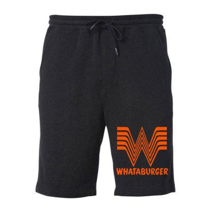 Whataburger Fleece Short Designed By Hot Maker