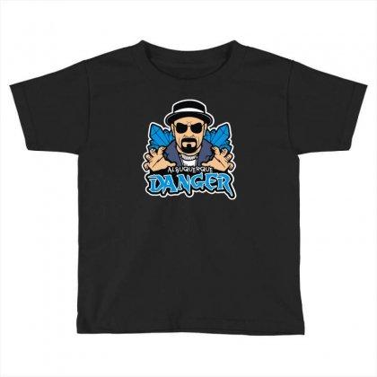 Albuquerque Danger Toddler T-shirt Designed By Mdk Art