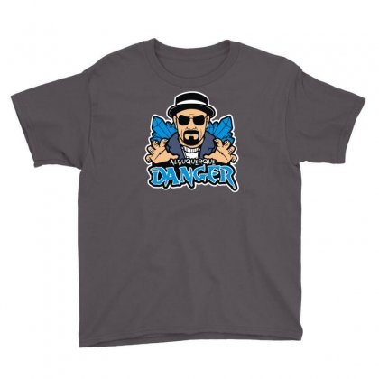 Albuquerque Danger Youth Tee Designed By Mdk Art