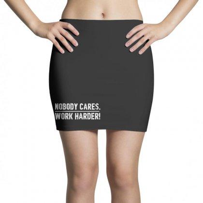 Lamar Jackson Nobody Cares Work Harder   For Dark Mini Skirts Designed By Hot Maker