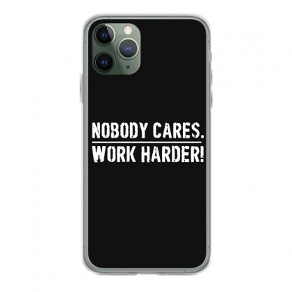Lamar Jackson Nobody Cares Work Harder   For Dark Iphone 11 Pro Case Designed By Hot Maker