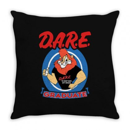 Dare Graduate Throw Pillow Designed By Hot Maker