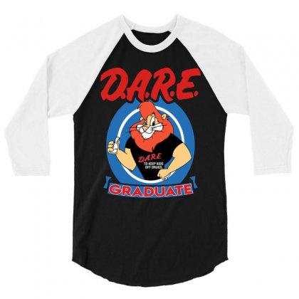 Dare Graduate 3/4 Sleeve Shirt Designed By Hot Maker