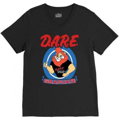 Dare Graduate V-neck Tee Designed By Hot Maker