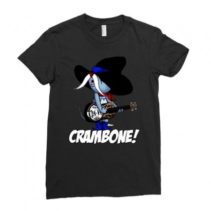 Uncle Pecos   Crambone Ladies Fitted T-shirt Designed By Jablay